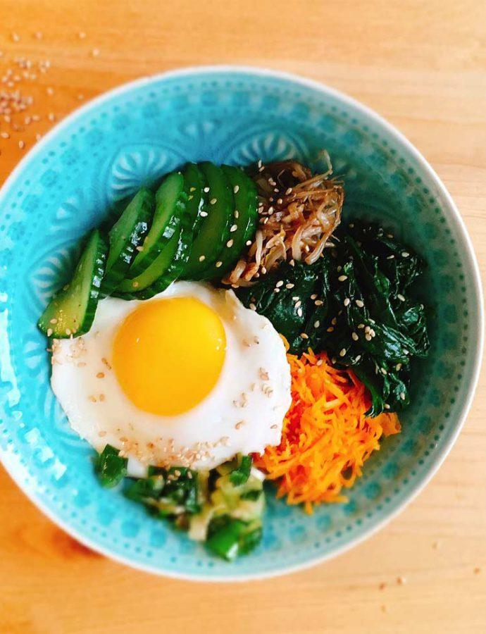 Bibimbap – eine koreanische Bowl