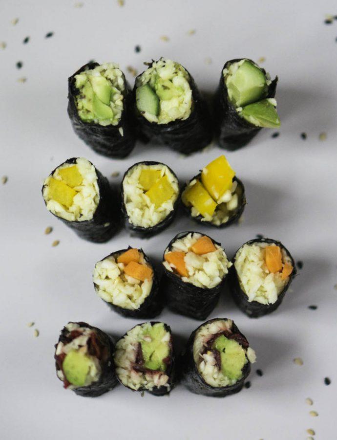 Pastinaken-Sushi
