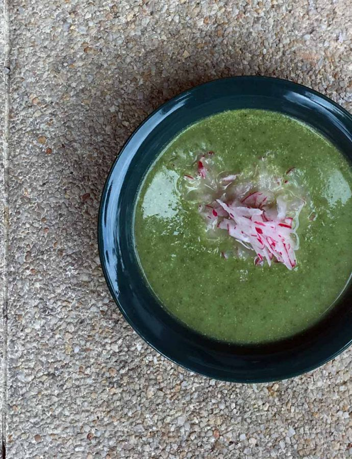 Radieschengrünsuppe