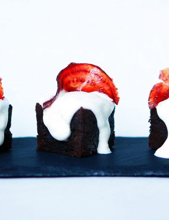Rote-Beete-Kuchen mit Schokolade
