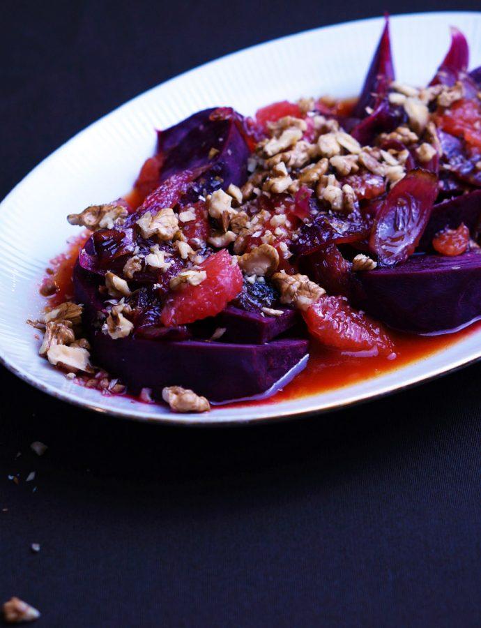 Lauwarmer Rote-Beete-Salat