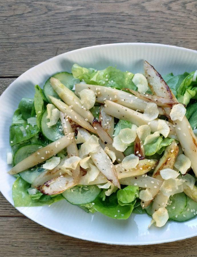Spargel-Salat, der Zweite