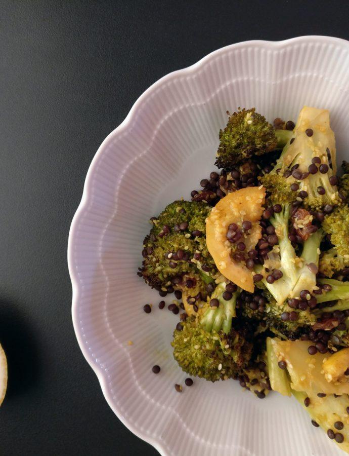 Brokkoli-Salat aus dem Ofen