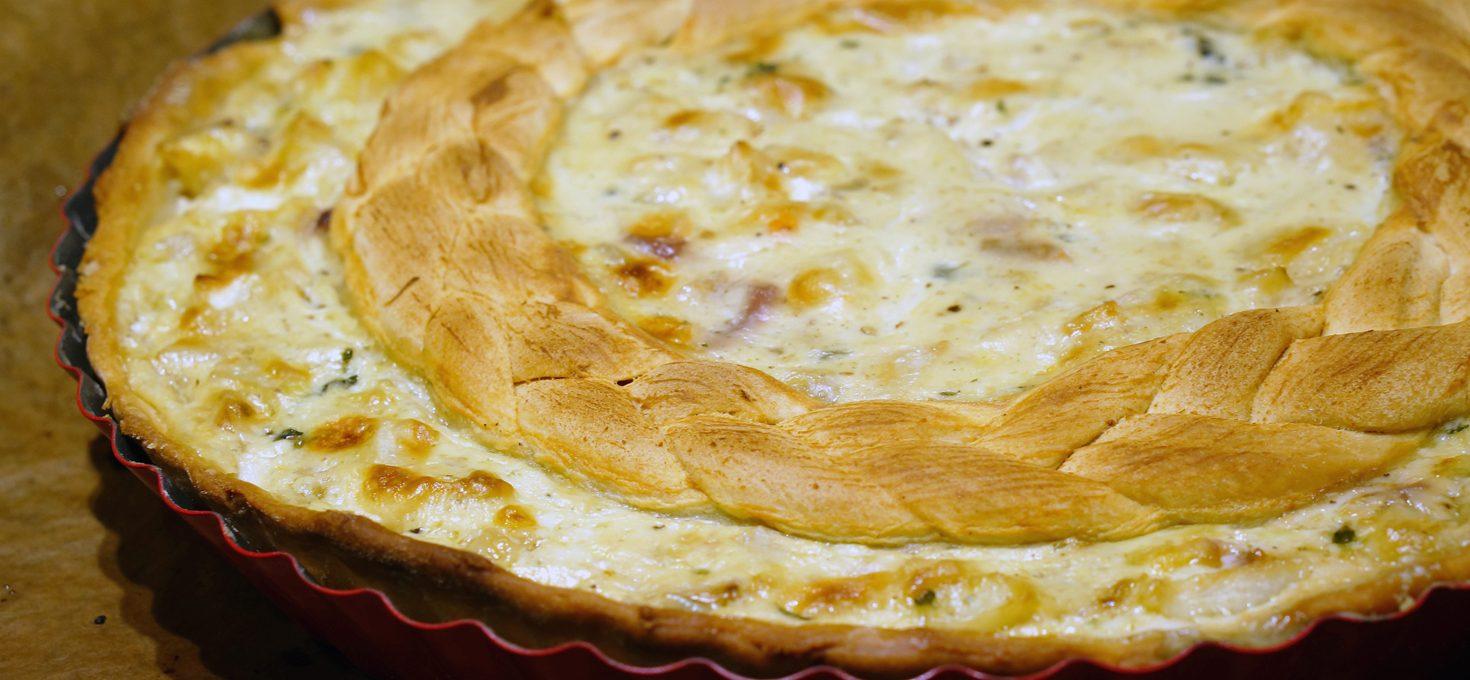 Sellerie-Zitronen-Quiche