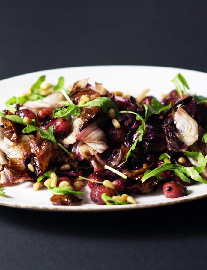 Köstlichster Trauben-Radiccio-Salat