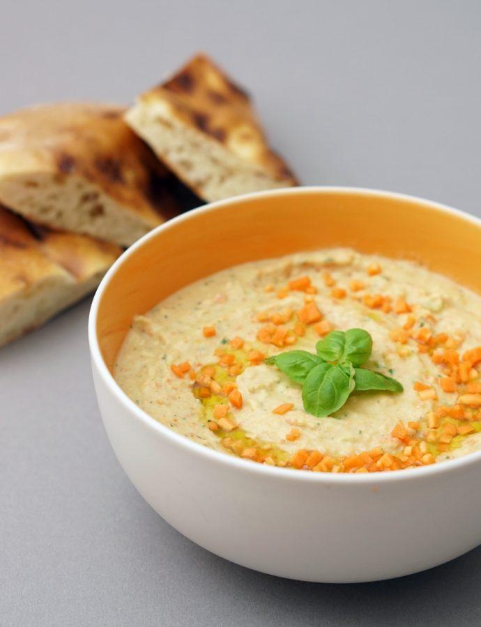 Karotten-Bohnen-Dip