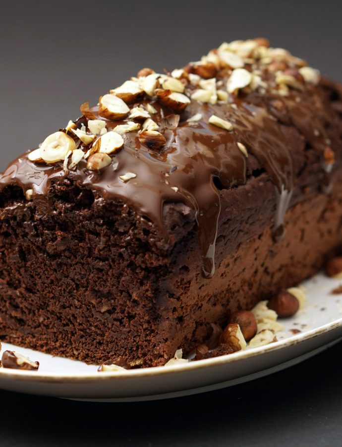 Veganer Schoko-Kuchen mit Pastinake
